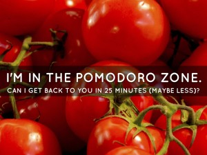 Pomodoro-Notice