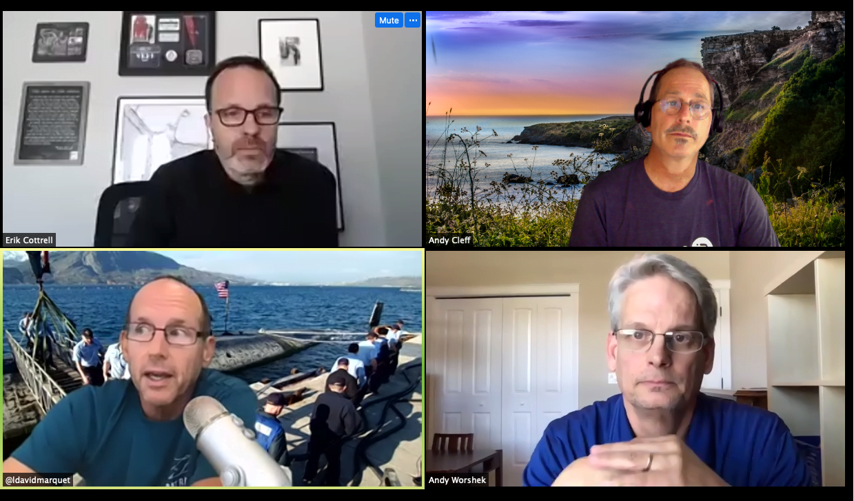 video gallery of webinar speakers on topic of leadership